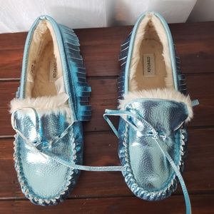 New Crewcuts Loafer House Shoes Slip On's Size 5 #